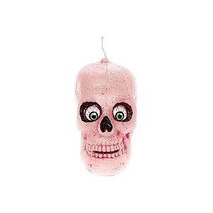 Vela Decorativa Halloween - Crânio - 1 UN - Rizzo