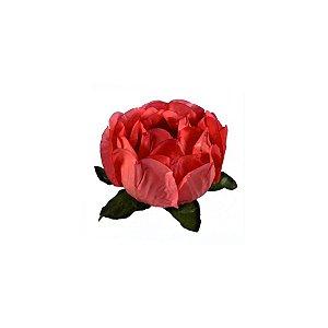 Forminha Flor - Rosa - Salmão Escuro - 40 UN - Decora Doces - Rizzo