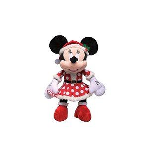 Minnie Com Vestido Poa Natal Disney Pequeno 01 Unidade - Cromus - Rizzo Embalagens