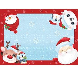 Jogo Americano Natal Encantado 06 Unidades Decora Doces Rizzo Embalagens