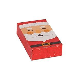 Caixa Gaveta Papai Noel 05 Unidades Decora Doces Rizzo Embalagens