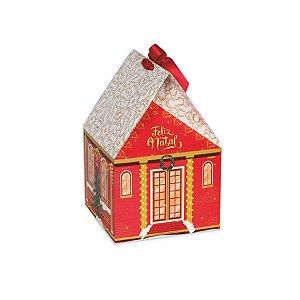 Caixa Casa Mágica com Alça 01 Unidade Decora Doces Rizzo Embalagens