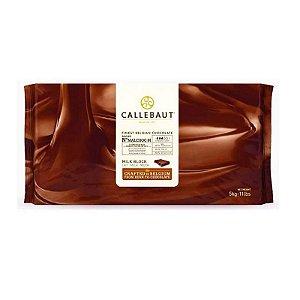 Chocolate Belga Callebaut - Chocolate Ao Leite Em Barra - Malchoc - 5 kg - Rizzo