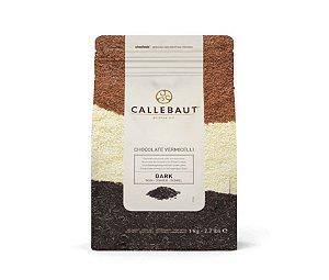 Chocolate Belga Callebaut - Granulado Amargo - Vermicelli - CHK-D-E2-U68 - 1 kg - Rizzo