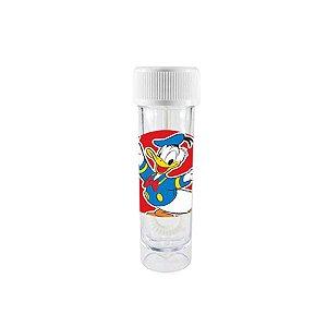 Mini Tubete Lembrancinha Bolha de Sabão Festa Mickey Mouse Branco 9cm 20 Unidades Rizzo Embalagens