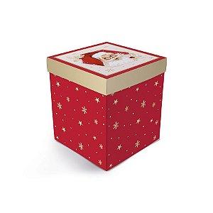 Caixa Panetone Explosão - Natalino - Natal - 1 UN - Cromus - Rizzo
