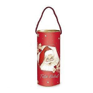 Lata Alça P/ Presente - Feliz Natal - Natalino - 1 UN - Cromus - Rizzo