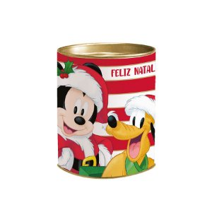Lata P/ Lembrancinha - Natal Mágico - Mickey - 11x9,1cm - 1 UN - Cromus - Rizzo