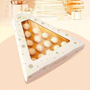 Caixa Pinheiro 15 Doces Linha Celebre Natal - 01 unidade - Rizzo Embalagens