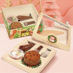 Caixa Kit Confeiteiro Linha Jingle Bell Natal - 01 unidade - Rizzo Embalagens
