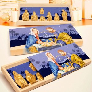 Caixa Presépio Natal - 01 unidade - Rizzo Embalagens