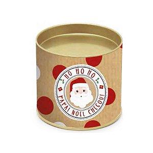 Lata Para Panetone Noelito Natal Cromus 01 Unidade Rizzo Embalagens