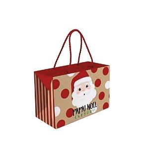 Caixa com Alça Prime Noelito Natal Cromus 01 Unidade Rizzo Embalagens