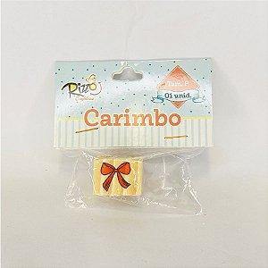 Carimbo de Madeira - Laço - P - 1 UN - Rizzo
