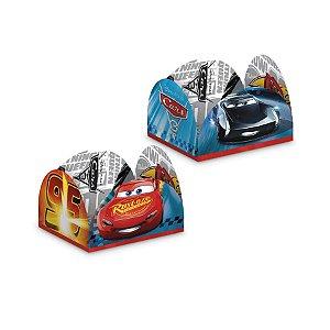 Porta Forminha para Doces - Festa Carros - 50 unidades - Regina - Rizzo Embalagens