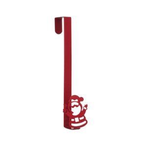 Suporte para Guirlanda Papai Noel Vermelho - 01 unidade Cromus Natal - Rizzo Embalagens