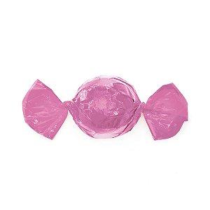 Papel Mini Trufa - 12x12,5cm - Rosa Claro - 100 unidades - Cromus - Rizzo Embalagens