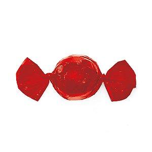 Papel Mini Trufa - 12x12,5cm - Vermelho - 100 unidades - Cromus - Rizzo Embalagens
