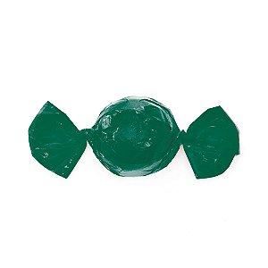 Papel Mini Trufa - 12x12,5cm - Verde - 100 unidades - Cromus - Rizzo Embalagens