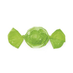 Papel Trufa 14,5x15,5cm - Verde Maçã - 100 unidades - Cromus - Rizzo Embalagens