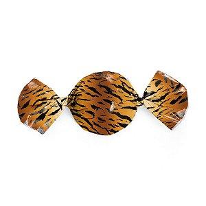 Papel Trufa 14,5x15,5cm - Tigresa - 100 unidades - Cromus - Rizzo Embalagens