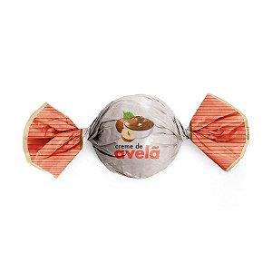 Papel Trufa 15x16cm - Creme de Avela - 100 unidades - Cromus - Rizzo Embalagens