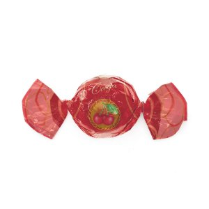 Papel Trufa 15x16cm - Cereja - 100 unidades - Cromus - Rizzo Embalagens
