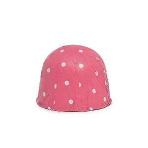 Papel Chumbo 8x7,8cm - Poá Pink - 300 folhas - Cromus - Rizzo Embalagens
