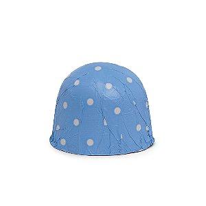 Papel Chumbo 10x9,8cm - Poá Azul - 300 folhas - Cromus - Rizzo Embalagens