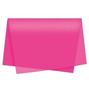 Papel de Seda - 49x69cm - Pink - 100 folhas - Cromus - Rizzo Embalagens