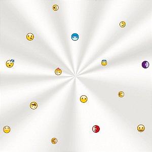 Saco Decorado Emotions - 10x14cm - 100 unidades - Cromus - Rizzo Embalagens
