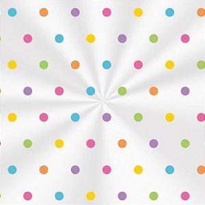 Saco Decorado Colors - 11x19,5cm - 100 unidades - Cromus - Rizzo Embalagens