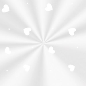 Saco Transparente Decorado Love Branco - 11x19,5cm - 100 unidades - Cromus - Rizzo Embalagens