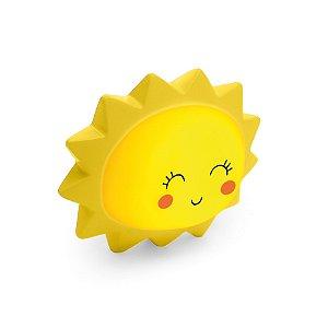Mini Luminária Sol Amarela Festa Pedacinho Do Céu - Cromus - Rizzo Festas