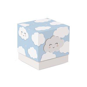 Caixa Cubo com Luva Festa Pedacinho Do Céu 7,5X7,5X7 - 8 unidades - Cromsu - Rizzo Festas