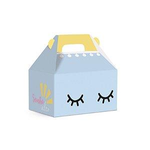 Caixa Maleta Kids Festa Pedacinho Do Céu Azul 12X8X12cm - 10 unidades - Cromus - Rizzo Festas