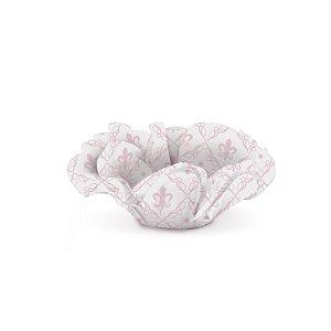 Forminha p Doce Seda Roses Rosa Festa Reinado da Princesa - 40 unidades - Cromus - Rizzo Festas