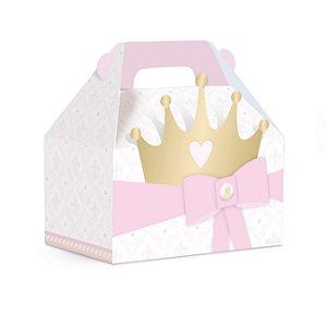 Caixa Maleta Kids Festa Reinado da Princesa - 10 unidades - Cromus - Rizzo Festas