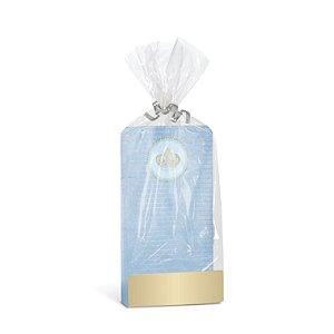 Kit Saquinho Cartela para Lembrancinha Festa Reinado do Príncipe - 10 unidades - Cromus - Rizzo Festas