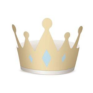 Coroa para Cabeça Festa Reinado do Príncipe Azul - 8 unidades - Rizzo Festas