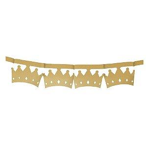 Faixa Decorativa Coroa Festa Reinado do Príncipe - Cromus - Rizzo Festas