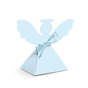 Caixa Anjinho Azul Festa Batizado - 8 unidades - Cromus - Rizzo Festas