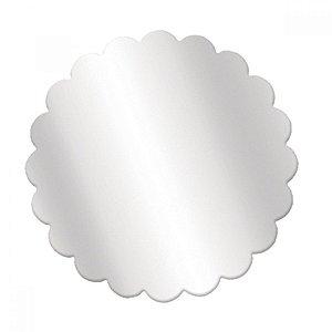 Fundo Rendado Redondo Transparente 11cm - 100 unidades - Cromus Rizzo Embalagens