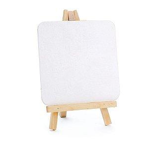 Lousa para Personalizar Cavalete Branco - 01 unidades - Cromus - Rizzo Festas