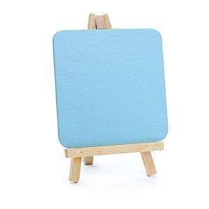 Lousa para Personalizar Cavalete Azul - 01 unidades - Cromus - Rizzo Festas