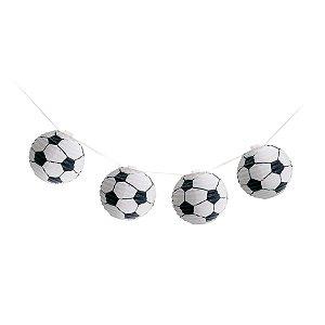 Varalzinho de Globos Bolas de Futebol - 01 unidade - Cromus - Rizzo Festas