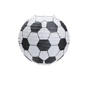 Lanterna de Papel Futebol 25cm - 01 unidade - Cromus - Rizzo Festas