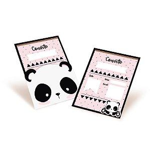 Convite Festa Panda - 8 unidades - Cromus - Rizzo Festas