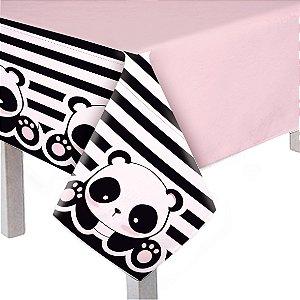 Toalha De Mesa Principal Festa Panda - Cromus - Rizzo Festas
