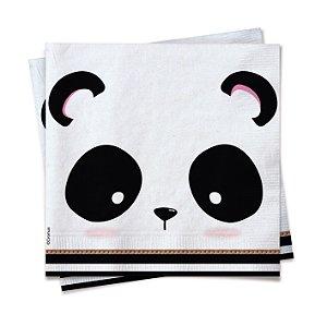 Guardanapo Festa Panda Branco - 20 unidades - Cromus - Rizzo Festas